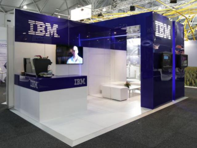IBM small stand